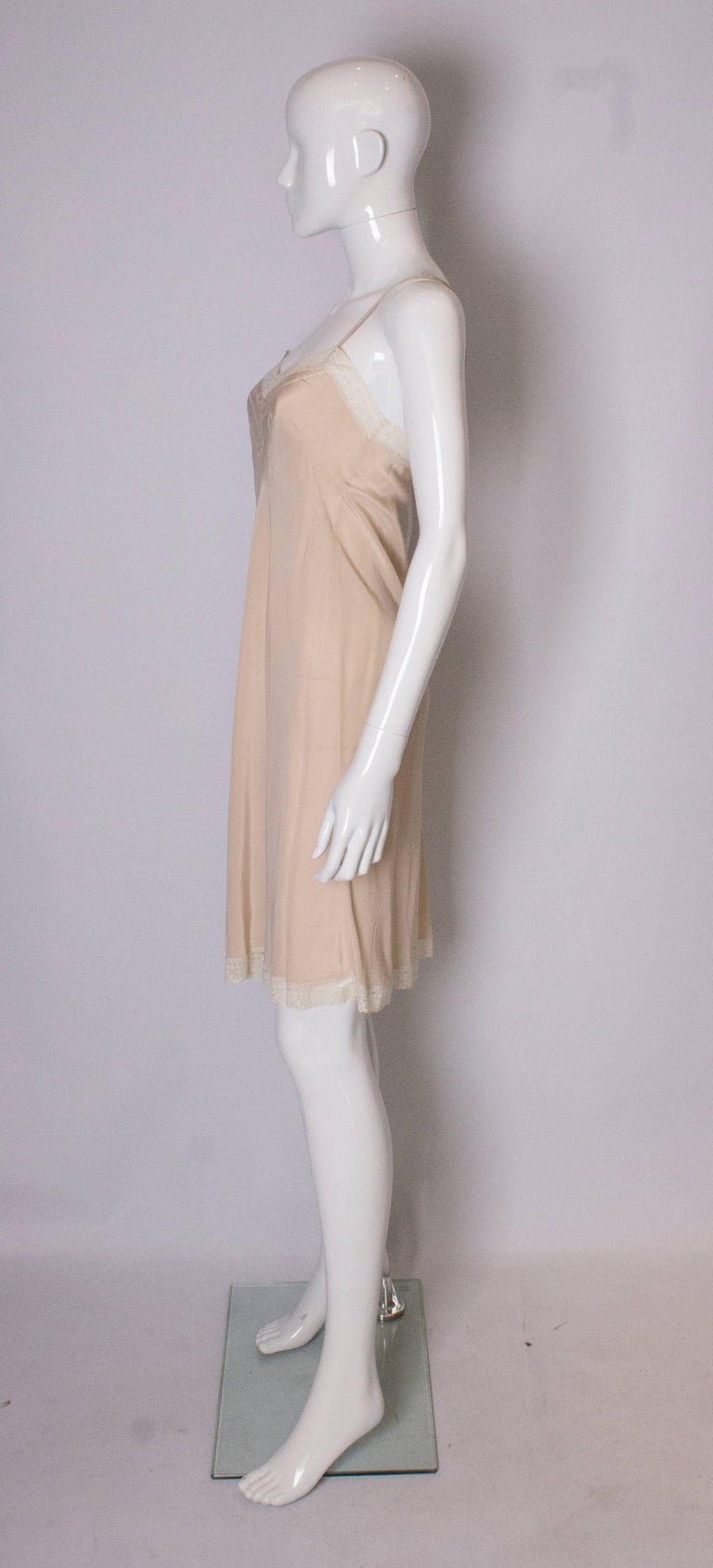 Vintage Silk Slip In Good Condition For Sale In London, GB