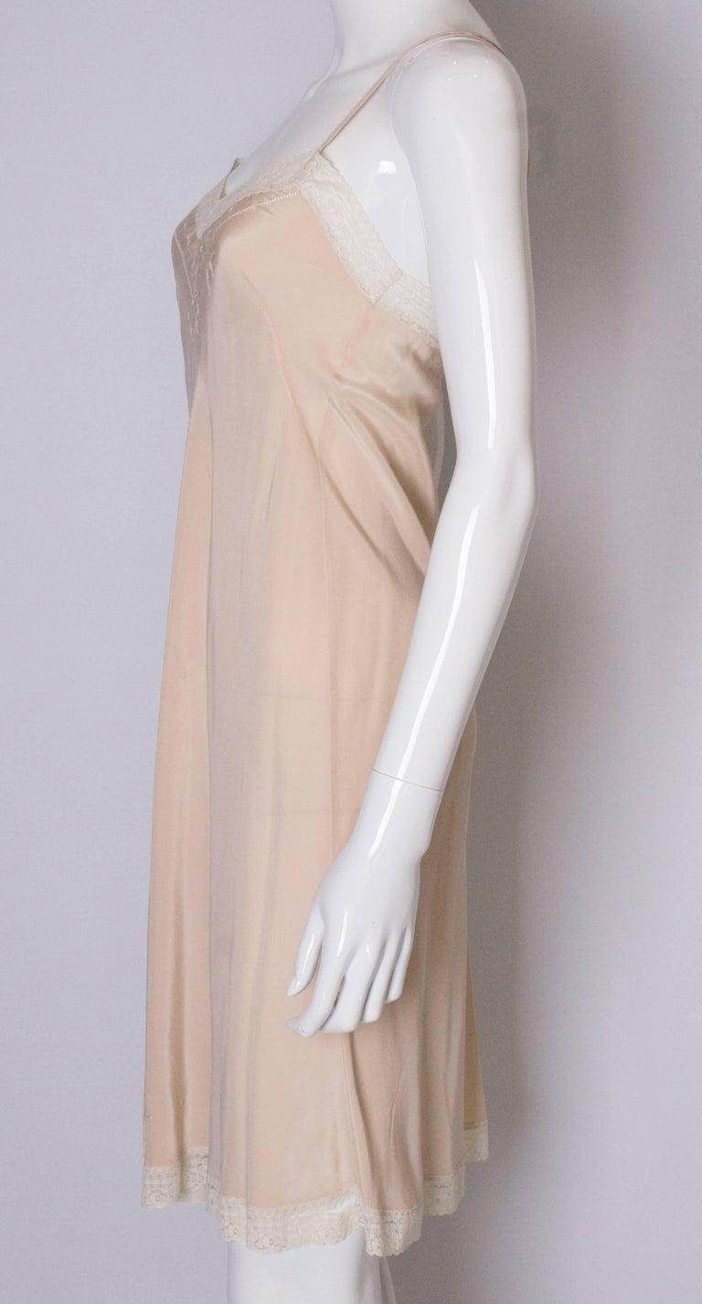 Women's Vintage Silk Slip For Sale