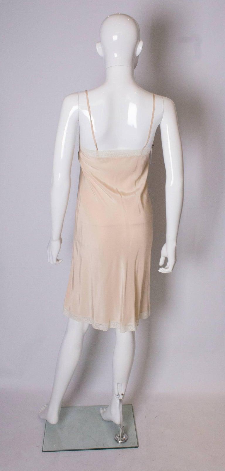 Vintage Silk Slip For Sale 1