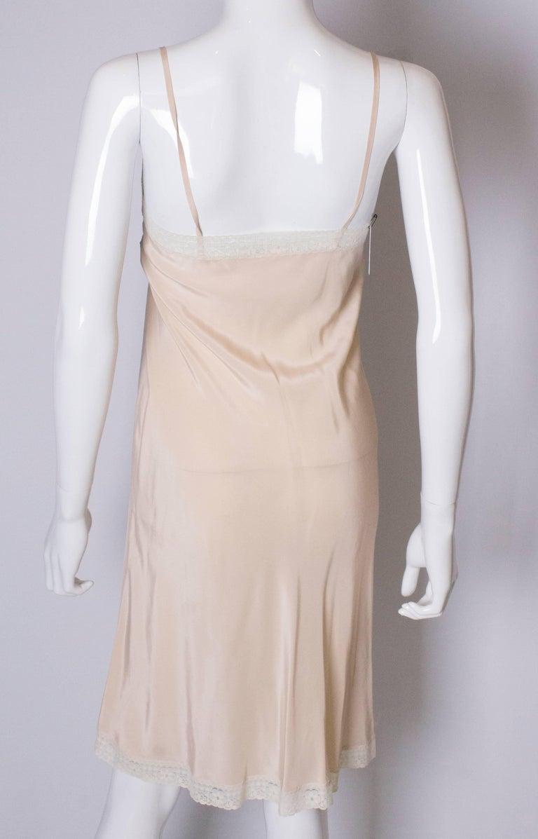 Vintage Silk Slip For Sale 2