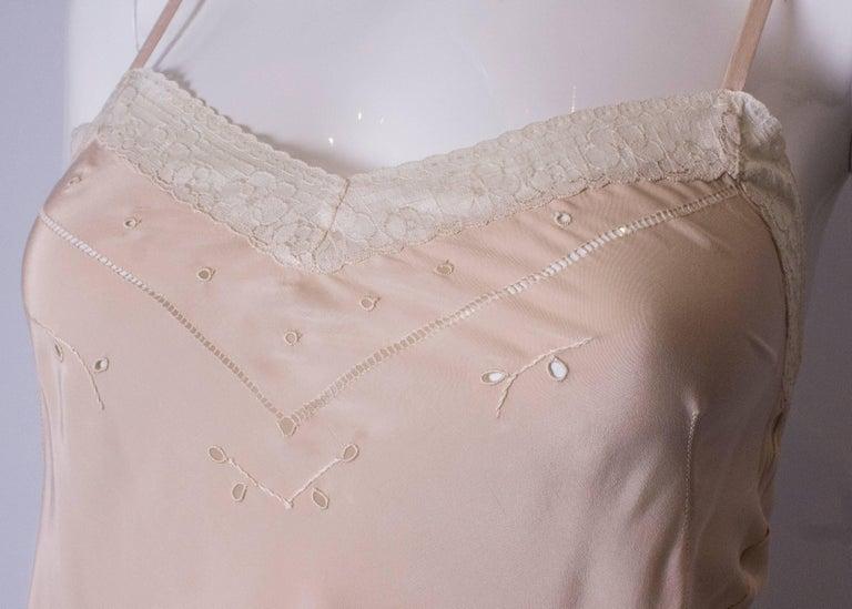 Vintage Silk Slip For Sale 3