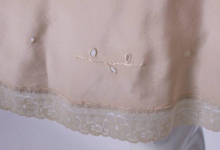 Vintage Silk Slip For Sale 4
