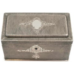 Vintage Silver Box, 20th Century
