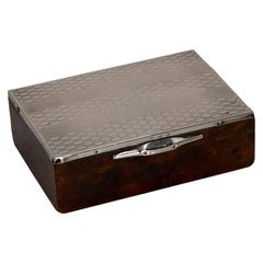 Vintage Silver Box, Early 20th Century