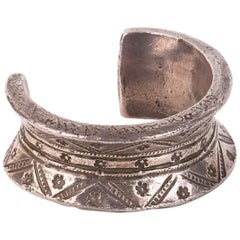 Vintage Silver Bracelet, Rajasthan India, Early 20th Century