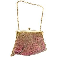 Vintage  Silver Handbag, 1922 Birmingham