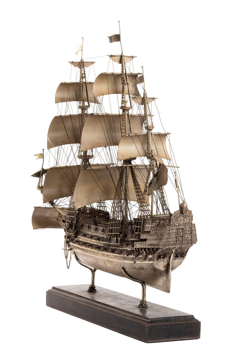 This is a beautiful model of sailing ship
