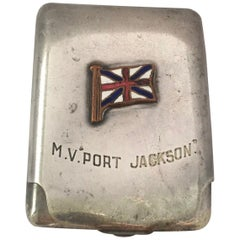 Vintage Silver Plated Cigarette Case