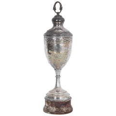 Vintage Silver Plated Trophy