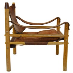 Vintage Sirocco Safari Chair by Arne Norell