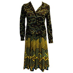 Vintage Skirt and Jacket by Saint Joseph France.