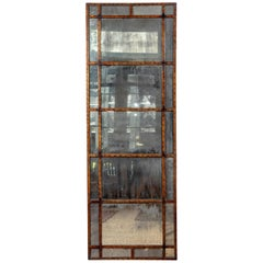 Vintage Smokey Mirrored Panel
