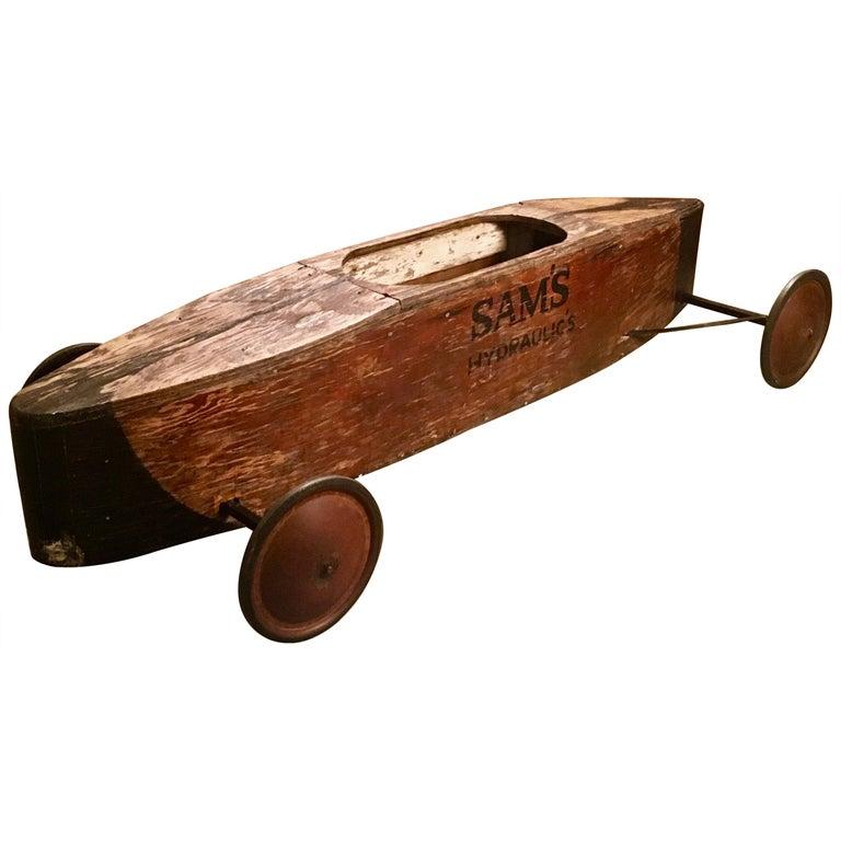 Vintage Soap Box Derby Car For Sale At 1stdibs