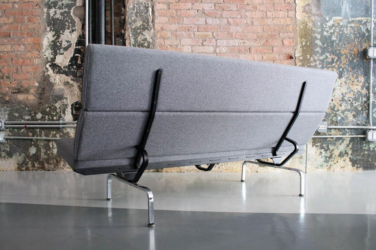 American Vintage Sofa Compact by Eames for Herman Miller, 1970s For Sale