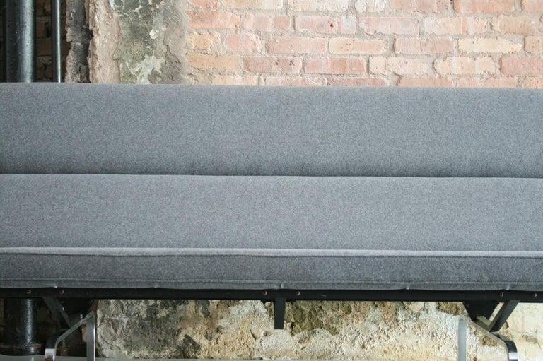 Steel Vintage Sofa Compact by Eames for Herman Miller, 1970s For Sale