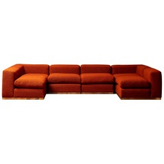 Vintage Sofa in 6 Parts