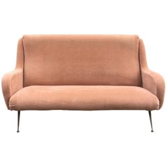Vintage Sofa in the Style of Marco Zanuso, circa 1960