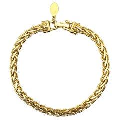 Vintage Soleil Chain Bracelet 1990s