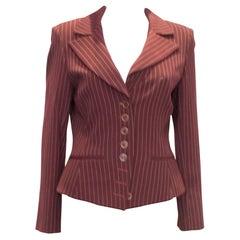 Vintage Sophie Sitbon Paris Pinstripe Jacket