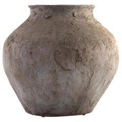 Vintage South Asian Terracotta Storage Jar