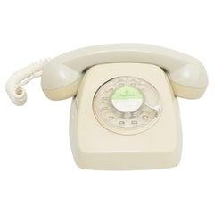 Vintage Spanish Analog Telephone by Telefonica, circa 1980