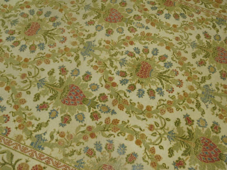 Spanish Colonial Vintage Spanish Cuenca Carpet For Sale