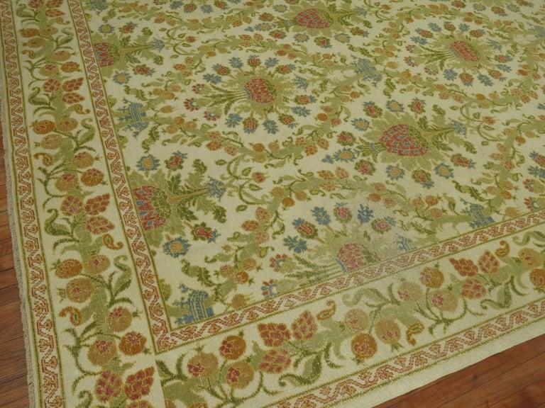 Wool Vintage Spanish Cuenca Carpet For Sale