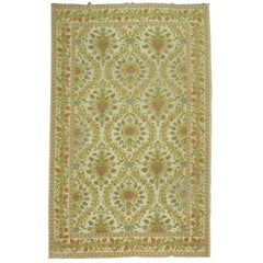 Vintage Spanish Cuenca Carpet