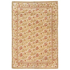 Vintage Spanish Pile Rug. Size: 6 ft x 8 ft 8 in (1.83 m x 2.64 m)