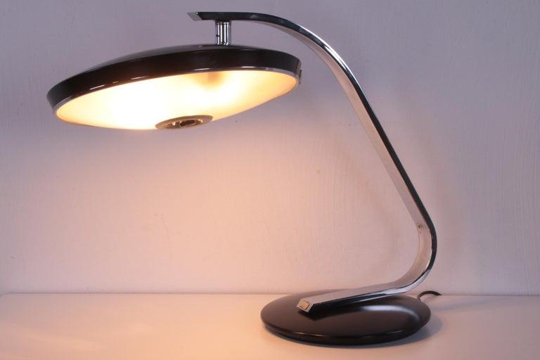 Vintage Spanish UFU Design Desk Lamp Design by Martin Pedro for Phase 60s For Sale 6