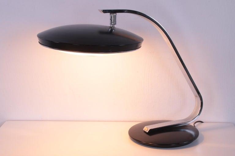 Vintage Spanish UFU Design Desk Lamp Design by Martin Pedro for Phase 60s For Sale 7