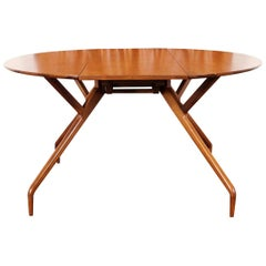 """Vintage """"Spider"""" Dining Table by Ed Frank for Glenn of California"""