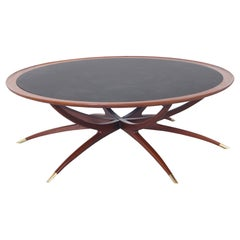 "Vintage ""Spider"" Leg Coffee Table"