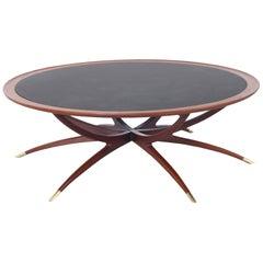 """Vintage """"Spider"""" Leg Coffee Table"""