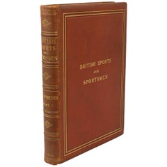 Vintage Sporting Book, British Sports and Sportsman Part 1