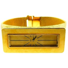 Vintage Spritzer & Fuhrmann Yellow Gold Wristwatch