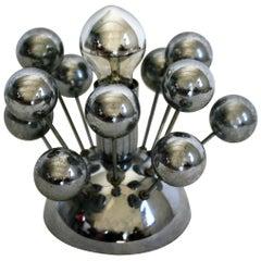 Vintage Sputnik Table Lamp, 1960s