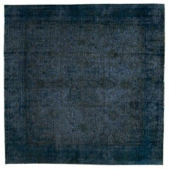 Vintage Square Overdyed Rug