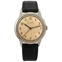 Vintage Stainless Steel 1950s Garrard Watch