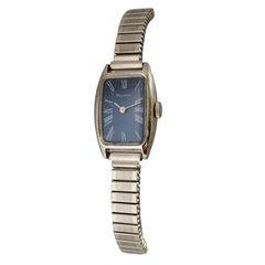 Vintage Stainless Steel Ladies Bulova Mechanical Watch