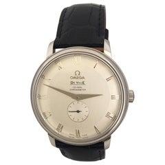 Vintage Stainless Steel Omega De Ville Prestige Co-Axial Men's Watch