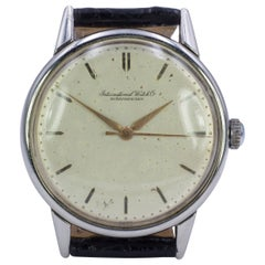 Vintage Steel IWC International Watch Company, 1950s