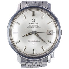 Vintage Steel Omega Constellation Automatic Wristwatch, 1966