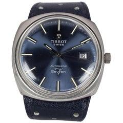 Vintage Steel Tissot Seven 7 Automatic Wristwatch, 1970s
