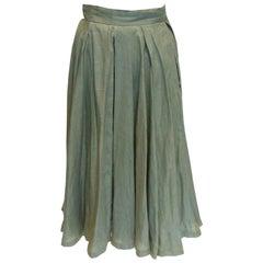 Vintage Stephanie Cooper Linen Skirt