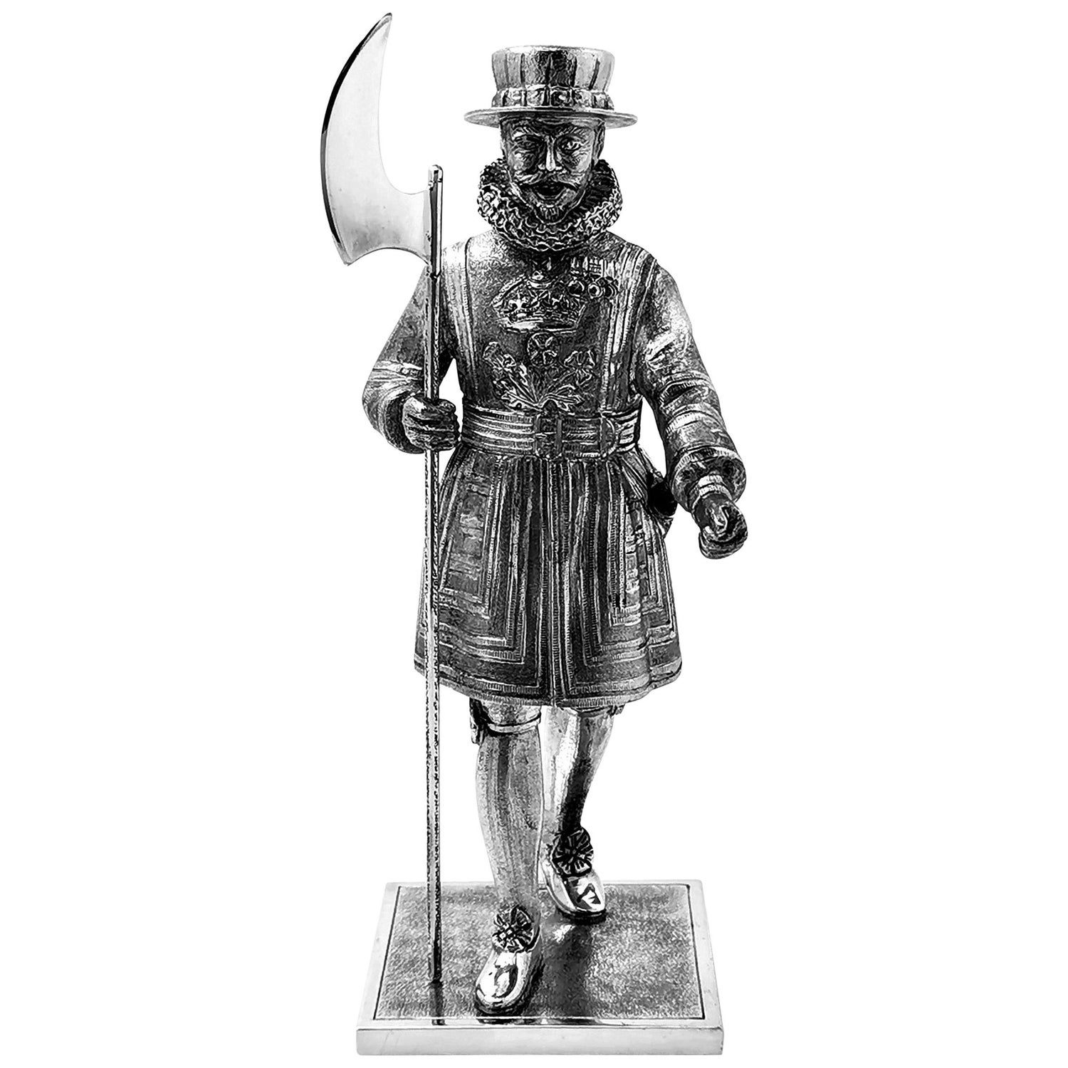 Vintage Sterling Silver Beefeater Yeoman Warder / Guard Model Figure 1968