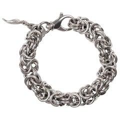 Vintage sterling silver bracelet by Raspini