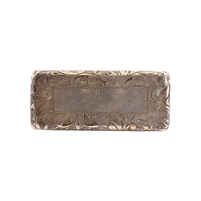 Vintage Sterling Silver Cigarette Holder In Good Condition For Sale In Coeur d Alene, ID