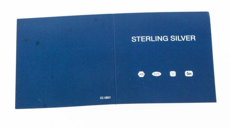 Vintage Sterling Silver Golf Cufflinks, 20th Century For Sale 2