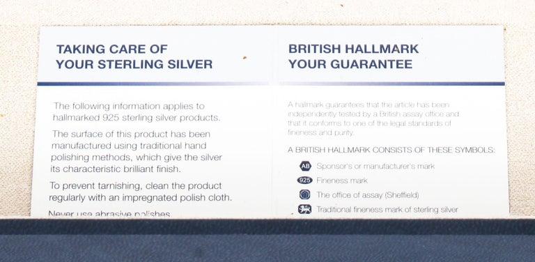 Vintage Sterling Silver Paper Knife Letter Opener Gift, 20th Century For Sale 6